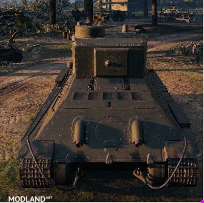 "T-34 Remodel ""T-34/122"" 1.0.1.1++ [1.0.1.1], 2 photo"